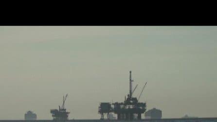 California, disastro ecologico: 500mila litri di petrolio in mare