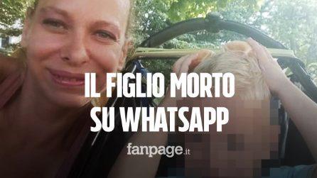 """Alex ucciso a 2 anni a Perugia, i messaggi della madre all'ex dopo il delitto: """"Nessuno lo avrà"""""""