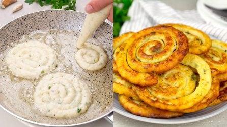 Spirali di patate: il contorno croccante per arricchire di gusto i tuoi piatti!