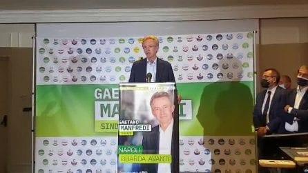 Gaetano Manfredi sindaco di Napoli, le prime parole dopo l'elezione