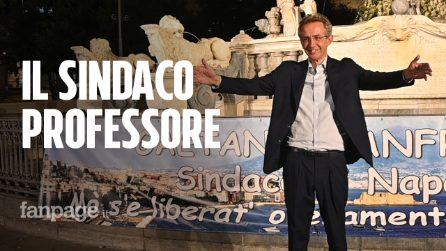 Gaetano Manfredi sindaco: festeggiamenti 'sobri' in piazza Municipio