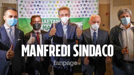 """Manfredi sindaco di Napoli al primo turno: """"Non siamo solo pizza e mandolino"""""""