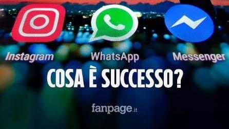 WhatsApp, Instagram e Facebook irraggiungibili: ecco di chi è la colpa e perché