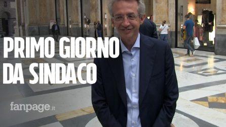 """Gaetano Manfredi, primo giorno da Sindaco: """"Sarà governo autonomo, ma ascolteremo tutti"""""""