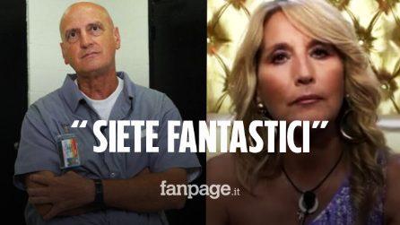 """Chico Forti scrive a Jo Squillo dopo lo sciopero della fame: """"Tu e Alfonso siete fantastici"""""""