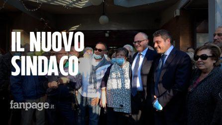 Roma, la prima uscita del neosindaco Gualtieri al centro anziani di Tiburtino III: 'Ripartiamo da qui'