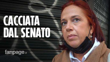 """La senatrice No Green Pass sospesa dal Senato: """"È dittatura, farò ricorso alla Consulta"""""""