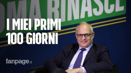 """Elezioni Roma, Roberto Gualtieri a Fanpage.it: """"La priorità pulire la città e il riassetto di Ama"""""""