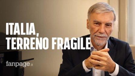 """Delrio: """"Maltempo sempre più pericoloso. Investiamo in prevenzione, non basta reagire a emergenze"""""""