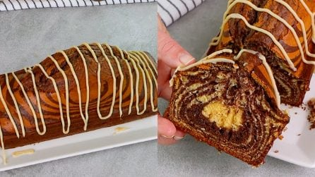 Marble cake: fluffy and fragrant!