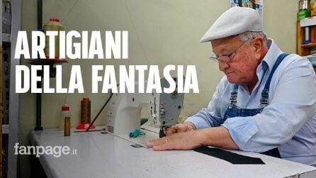 """A Napoli la bottega di Bruno, l'artigiano degli occhiali: """"Così sfido i prodotti cinesi"""""""