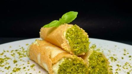 Cannoli di parmigiano con crema di zucchine: l'antipasto sfizioso che conquisterà tutti!