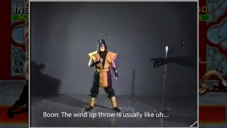 Le registrazioni della leggendaria mossa di Scorpion in Mortal Kombat