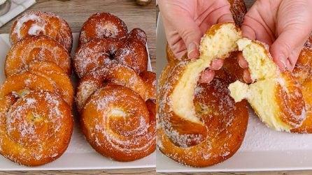 Girelle fritte: dolcissime e facili da preparare!