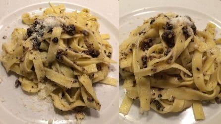 Tagliatelle al tartufo: al ricetta del gustoso primo piatto