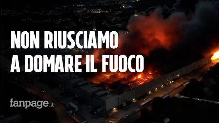 """Incendio ad Airola nel Beneventano: """"Non riusciamo ancora a domare le fiamme"""""""