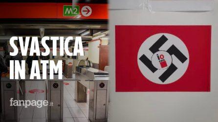"""Svastica nel deposito Atm a Milano: """"Molti colleghi no green pass non vogliono nemmeno i tamponi"""""""