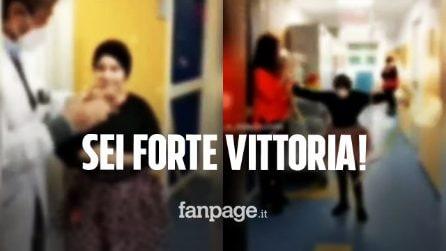 """La piccola Vittoria conclude la chemio, il commovente video del Santobono: """"Un traguardo importante"""""""