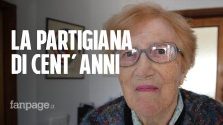 """Sofia Gobbo, la staffetta partigiana compie 100 anni: """"Mai avuto paura, ma oggi temo l'ignoranza"""""""