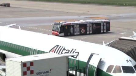Addio Alitalia, cala il sipario dopo oltre 74 anni