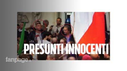 """L'avvocato Taormina: """"Fiore, Castellino e Aronica non hanno assaltato la CGIL, stavano fuori"""""""