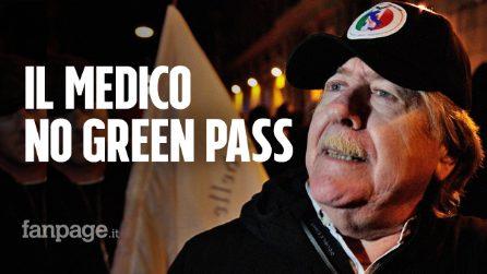 """Napoli, il medico no green pass: """"È un lasciapassare nazifascista"""""""