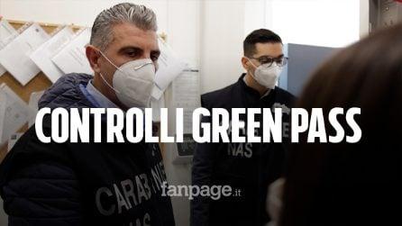 Il giorno del Green pass: a Milano controlli con i carabinieri del Nas