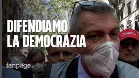 """Roma, Landini: """"La manifestazione non è di parte, difende democrazia di tutti"""""""