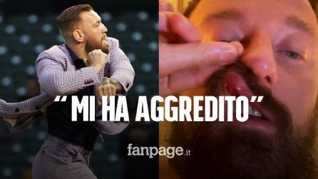 """Francesco Facchinetti aggredito da Conor McGregor: """"È una persona pericolosa"""""""