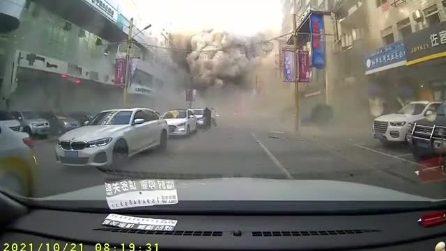 Cina, esplosione di gas in un ristorante: tre morti e decine di feriti