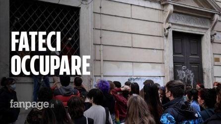 """Roma, tensioni al Liceo Ripetta: """"Vogliamo un dialogo con la preside, non ci vuole parlare"""""""