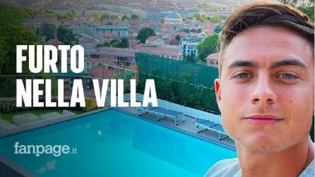 Furto nella villa di Dybala: ladri in azione mentre lui è in Russia con la Juventus