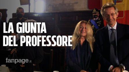 """Manfredi presenta la giunta: """"Figure di alto profilo, autonome, competenti e di esperienza"""""""