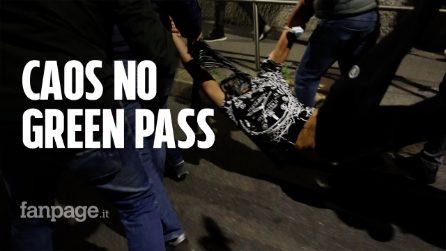 Milano, ancora disagi e tensioni nell'ennesimo sabato no Green pass: bloccato un manifestante