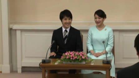 Giappone, la principessa Mako sposa il fidanzato Komuro