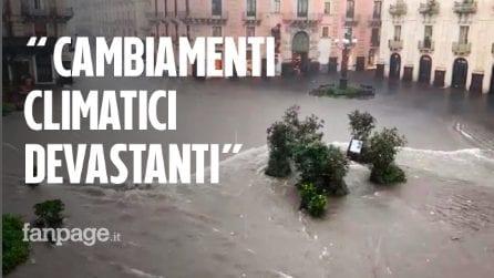 """Nubifragio Catania, il geologo: """"Nelle ultime 72 ore la pioggia che cade in 6 mesi, ecco perché"""""""